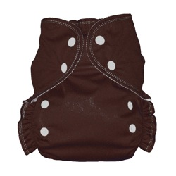 One Size Duo diaper Chocolate-