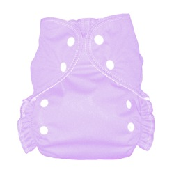 One Size Duo� diaper Lavender-
