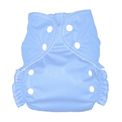 One Size Duo diaper Light Blue-