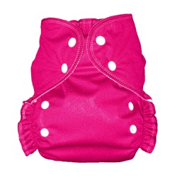 One Size Duo diaper Magenta-