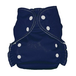 One Size Duo diaper Navy-