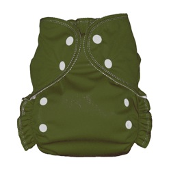 One Size Duo diaper Olive-