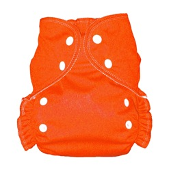 One Size Duo diaper Orange-