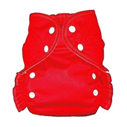 One Size Duo diaper Red-
