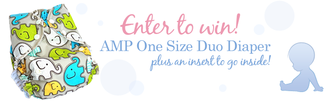 AMP One Size Duo Diaper Giveaway
