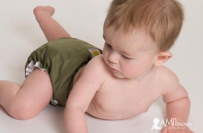AMP Baby in Olive